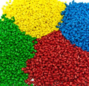 Plastic pellets for injection molding 2
